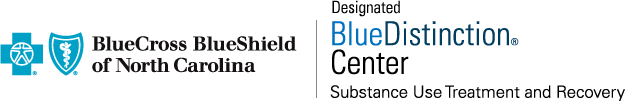 Bllue Cross Blue Shield - Blue Distinction Center shield